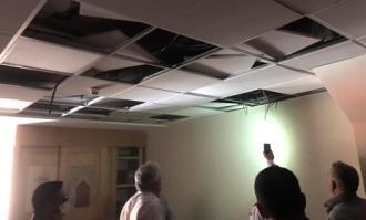 اتصالی و کندسوزی سیمهای برق بخش اداری کتابخانه و موزه ملی ملک کنترل شد