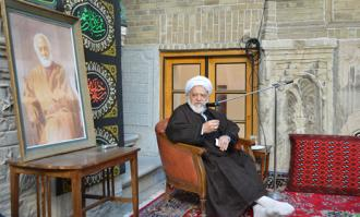 آیین سوگواری سیدالشهدا (ع) در خانه تاریخی ملک در تاسوعا و عاشورای حسینی برگزار شد/ گزارش تصویری