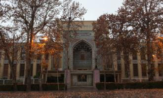 اهدای کتاب از سوی وزارت فرهنگ و ارشاد اسلامی به کتابخانه و موزه ملی ملک