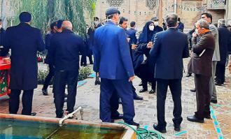 بازدید ویژه از خانه تاریخی ملک در بازار بینالحرمین تهران