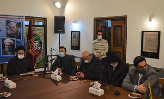 آیین گرامیداشت نخستین سالگرد شهادت سردار سلیمانی در خانه تاریخی ملک