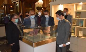 رونمایی از هفت اثر تاریخی و موزهای با درونمایه بهار در کتابخانه و موزه ملی ملک