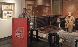 آیین رونمایی از دو مجموعه کتاب اهدایی به کتابخانه و موزه ملی ملک برگزار شد