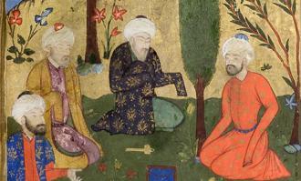 آثار نگارگری - کتابخانه و موزه ملی ملک - گزیده ۱