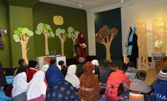 برگزاری کارگاه قصهگویی باغ قصهها