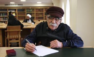بزرگان فرهنگ و ادب ایران در مراسم گشایش تالار محققان کتابخانه و موزه ملی ملک