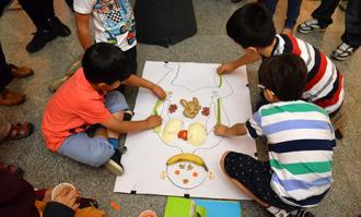 حضور چشمگیر کودکان و نوجوانان در برنامههای بازدید کتابخانه و موزه ملی ملک