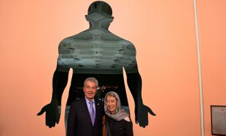 بازدید رییس جمهور اتریش و هیات همراه از کتابخانه و موزه ملی ملک